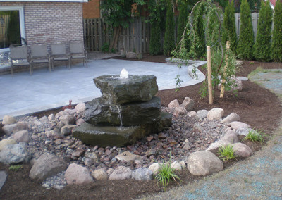 3 Stack Water feature